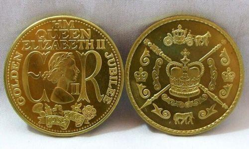 Golden Jubilee Coin Ebay
