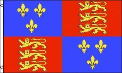 3'x5' Queen Elizabeth I Flag UK British Royal Coat Of Arms Monarchy England 3x5