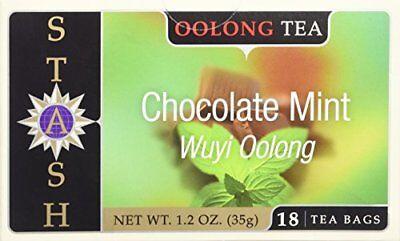 Stash Mint Tea (Stash Tea - Chocolate Mint Oolong Tea (18tabs) )