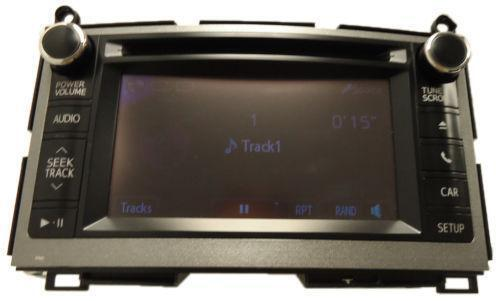 Toyota Venza Radio Parts Amp Accessories Ebay
