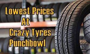 18 inch Second Hand Used Tyre From $40 Each @ Crazy Tyres Fairfield Fairfield Area Preview
