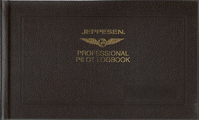 Jeppesen Professional Pilots Logbook *ICAO/FAA VERSION*