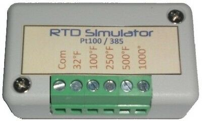 Rtd Simulator And Tester Troubleshooting Simulates 2-wire 3wire 4-wire Pt 100