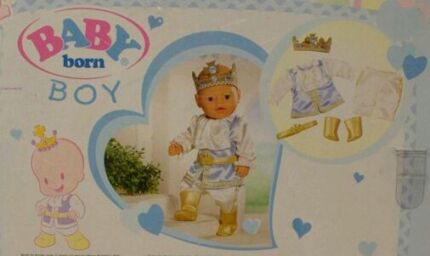 Baby Born Boy Prince Outfit Parkwood Canning Area Preview