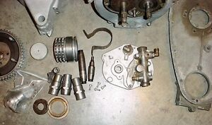 Antique 1934 Indian Sport Scout engine with title & spares London Ontario image 8