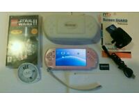 Sony PSP 3003 Pink Lmtd Ed console lot A1!!!