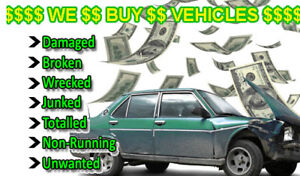 SCRAP VEHICLES WE PAY CASH ON THE SPOT!!! LONDON AREA