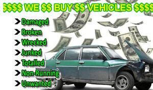 SCRAP VEHICLES WE PAY CASH 519-694-5098 HAMILTON AREA