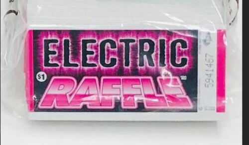 Pull Tab Ticket Electric Raffle Bingo Event Game 160ct - FREE SHIPPING