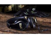 Piano Black Stereo DJ headphones - Brand New In Box - Cost £29.99