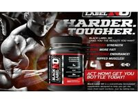 2X Muscle enhancers black no label
