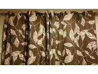 2 pair of curtains