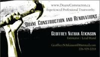 Skilled Construction Labourers and Framers