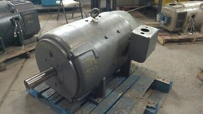150 Hp Dc Westinghouse Electric Motor 1750 Rpm 507a Dpfv 500 V