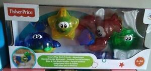 Fisher-Price - Stay 'n Play Bath Friends