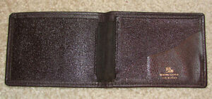 NEW Pitt Brand Brown Leather Wallet