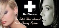 Ear & Nose Piercing Available - Certified Class 1 Medical Device