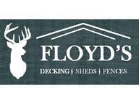 Floyd's Decking, Sheds & Fences