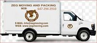 Moving and packing trucks available