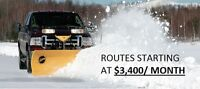 SNOW REMOVAL ROUTES AVAILABLE WINTER 2015-2016
