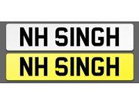 Private plate, SINGH, KAUR, KHALSA, sikh, hindu,muslim, dvla, cherished plate, indian,nihang