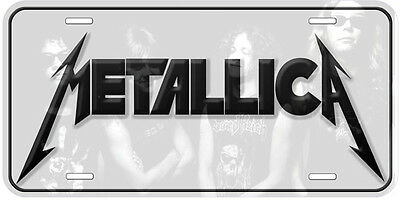 Metallica Aluminum Novelty Car License Plate