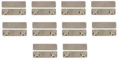Pack Of 10 Self Adhesive Bar Magnets For Name Tags Name Badges Id Holder