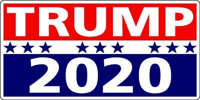 Donald Trump 2020 President - Decal / Sticker