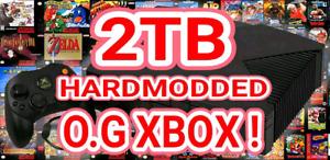 ☆ 2TB ☆ HARDMOD ☆ Original XBOX 60K+ GAMES ☆ HD 1080i