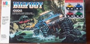 1984 Milton Bradley Bigfoot Monster Truck 4x4 (not used)