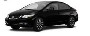 2015 CiVic Touring - Fully Loaded - short term Lease Transfer