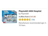 Playmobil hospital, ambulance, helicopter, playground and all accessories