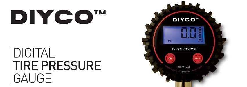 DIYCO Tire Pressure Gauges