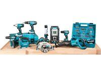 Power tools makita,dewalt wanted