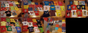 $1 Each 120 Pieces - 4T Boys Summer Clothing (Shirts & Shorts)