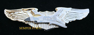 US AIR FORCE F-16 FIGHTING FALCON VIPER WING PIN AFB PILOT AIRCREW FIGHTER ](Air Force Fighter Pilot)