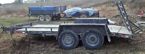 DUAL AXLE FLATBED