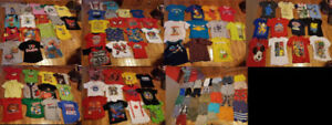 $1 Each - 120 Pieces - 4T Boys Summer Clothing (Shirts & Shorts)