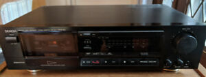 Audio gear - receiver, CD player, tape player, speakers