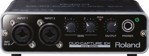 ROLAND DUO-CAPTURE EX USB Audio Interface