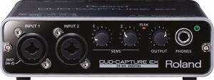 ROLAND DUO-CAPTURE EX USB Audio Interface