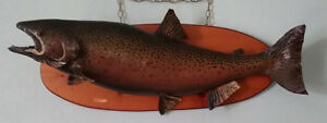 Vintage Mounted Lake Trout