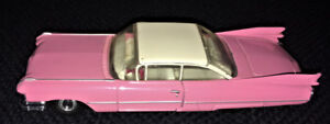 Pink Dinky Toy 1959 Cadillac Coupe Deville