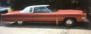 '74 Cadillac Eldorado For Sale By Owner ,Family owned since 1974