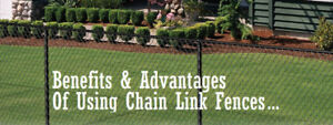 CHAIN LINK FENCE & gates