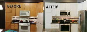 WANT TO UPDATE YOUR KITCHEN CUPBOARDS?