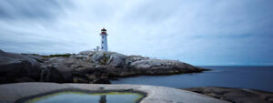 Sport Bike Ride to Peggy's Cove