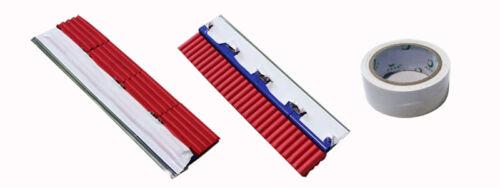 Screen Printing Ink Scraper Metal Press Tool Combined Type Set 13 inches Long