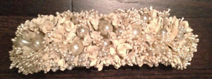 VINTAGE STYLE HAND MADE BRIDAL HEADPIECE COMB