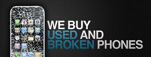J'achète vos téléphones neuf usagé ou brisé